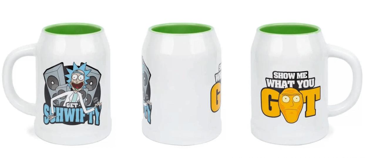 Rick and Morty Get Schwifty - ceramiczne kubki